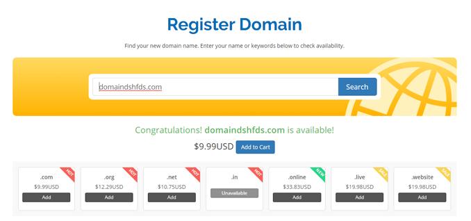 hostcron-domain-registration