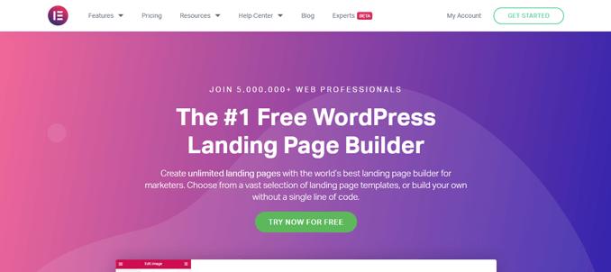 elementor-best-landing-page-software