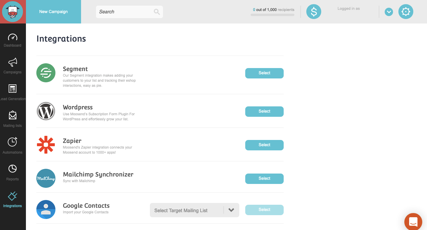 moosend-powerful-affordable-email-marketing-and-automation-tool-integrations