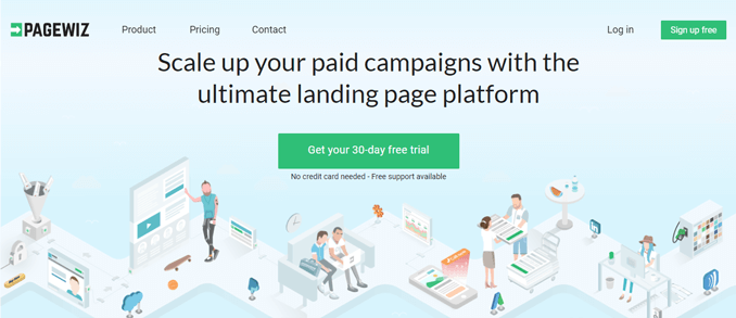 pagewiz-free-landing-page-generator-tool-for-marketers