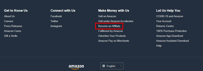 become-an-amazon-associate-affiliate-link-footer