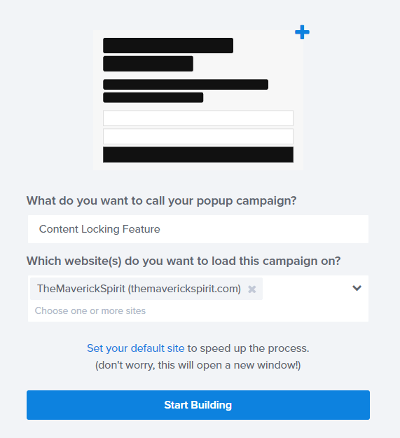 name-the-campaign-select-website-optinmonster
