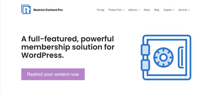 restrict-content-pro-popular-membership-wordpress-plugin